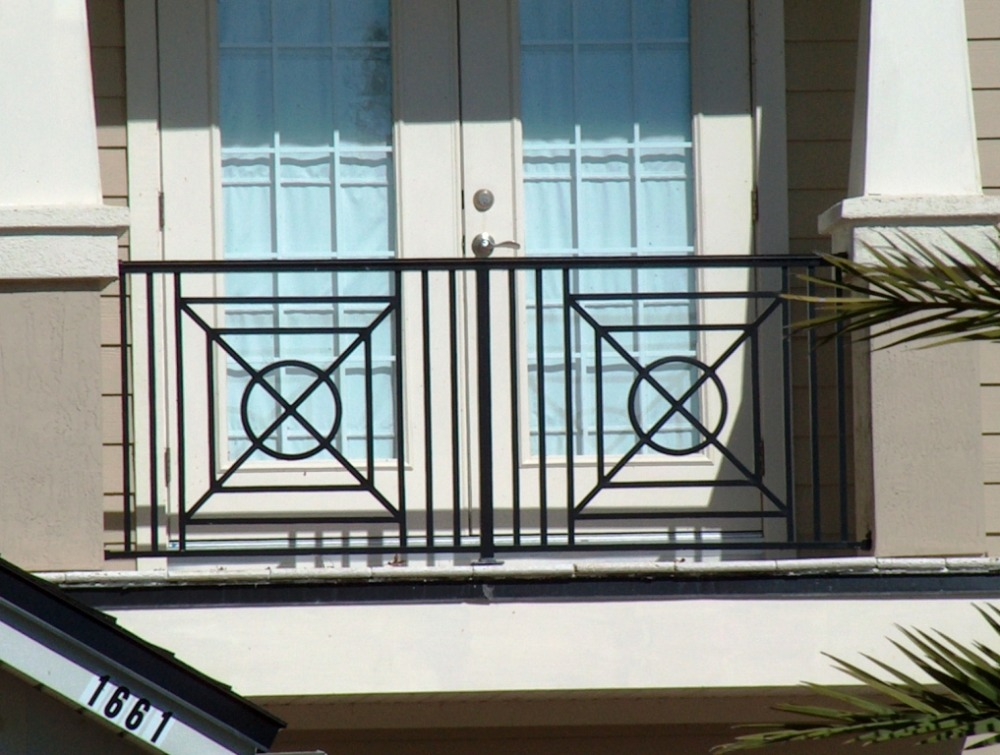 Ornamental balcony railings 2014 latest design glass for Balcony steel railing designs pictures