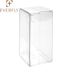 flower clear plastic pvc packaging box