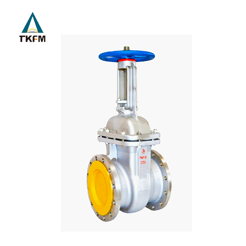 TKFM chinese supplier expanding rising stem gear operated direct buried gate valve 250mm