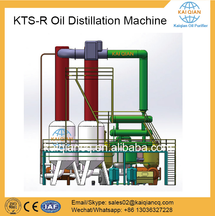 Ship Oil Recycling System Lube Oil Recycle Equipment