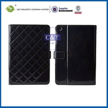 Latest Fashionable Design new flip leather samrt cover case for ipadmini