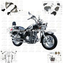 cruiser motorcycle parts Ducar DJ250