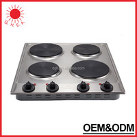 2015 Nice Quality Wholesale 4 burner portable electric hot plate parts