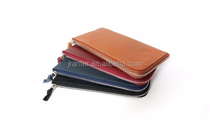 OEM for iPhone 6 Case Waterproof Shockproof Zipper Mobile Phone Leather Pouch