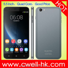 Cheap Price OUKITEL U7 5.5 Inch Android 4.4 MTK6582 Quad Core 1GB RAM 8GB ROM Double Cameras China Mobile Phone