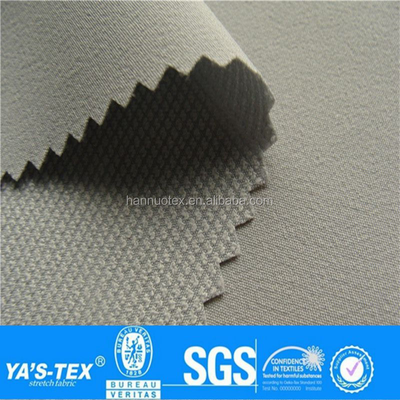 Spandex Breathable Nano Waterproof Micro Fiber Polyester 4 Way Stretch Fabric