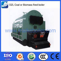 Firewood woodchips wood logs saw dust fired biomass boiler home