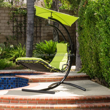 Garden patio hammock swing chair helicopter canopy swing chair