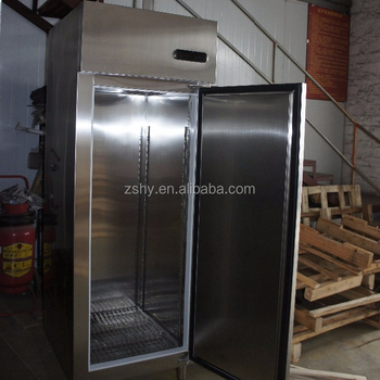 Stainless steel commercial kitchen storage freezer