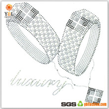 Welcome Custom Manufacturing High Quality Wedding Ring Hot Fix Applique Motif