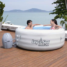 4-6 person Bestway 54112 LAY Z SPA VEGAS Air jet inflatable hot tub spa
