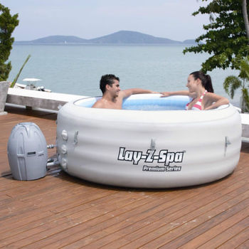 6 person Bestway 54112 lay z spa VEGAS inflatable hot tub spa