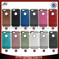 Frosted mobile phone accessories TPU PC Hybrid Case for iphone 6 cellphone case for i phone 6
