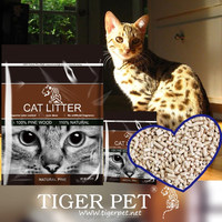 cat litter cat sand made with 100% Russian natural wild forest pine wood