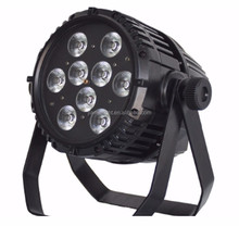 IP65 waterpoof DJ Stage Lights led par lights 6in1 Rgbwa + Uv Led Uplight Battery Powered Wireless Dmx led par stage light