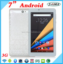 China Tablet Factory 7 Inch Dual Core Tablet 3G Bluetooth FM 8GB ROM 1024*600 HD Screen