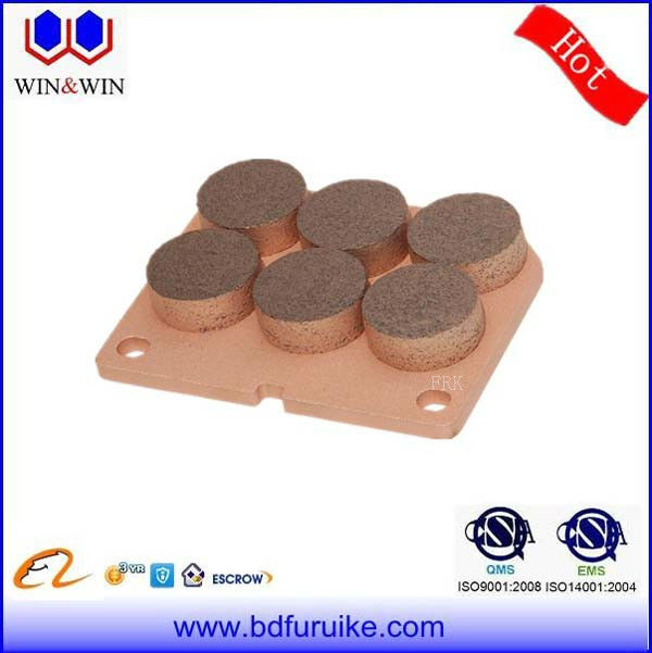 High performance OEM Approved disc sinter brake liner