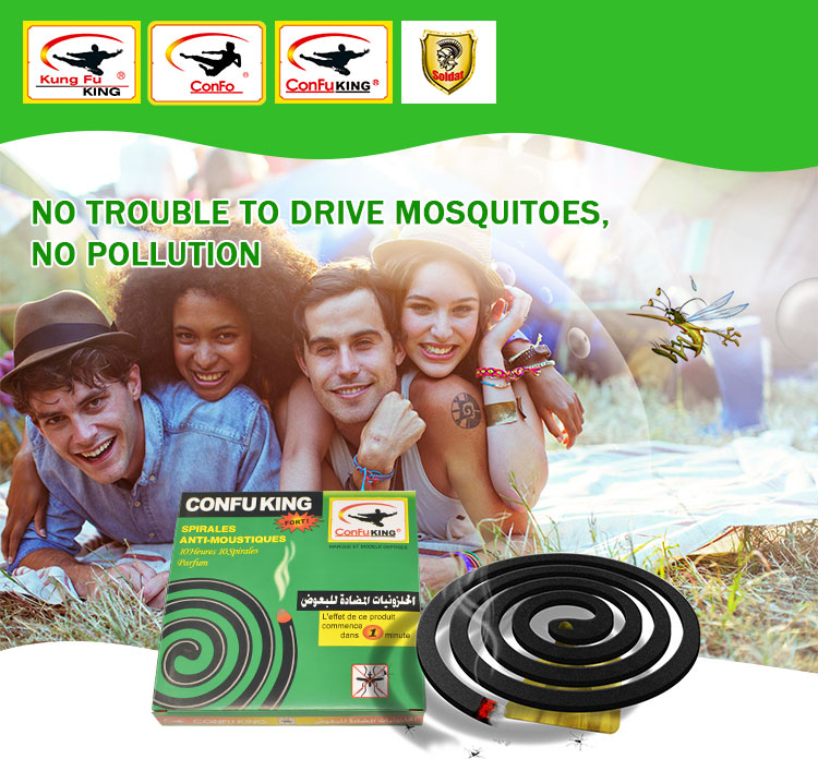 Summer must-have best-selling black mosquito-repellent incense
