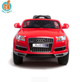 WDQ7 Hot Selling Licensed Ride On Toy Car Audi, Wheels With Suspension, Fashion Kids Toy Car With Mp3 Port