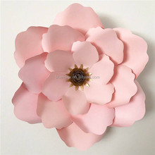Artificial Flowers Wall Wedding Stage Decoration Large Paper Flowers