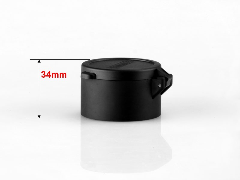 MARCOOL 51MM Flip up cover in black airsoft flip up cap for 51 mm obj. lens rifle scope lens cover