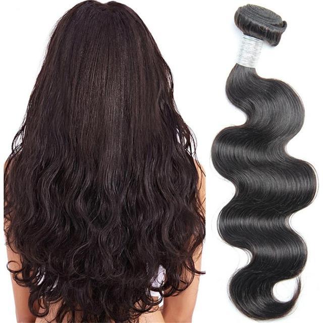 Peruvian virgin bundles body wave style remy brazilian wholesale price hair weaving hot beauty products Alibaba