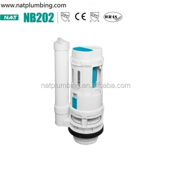 Hot sale toilet dual flush valve of toilet tank fitting