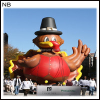 NB-CT30100 Special Vivid inflatable turkey for Advertising