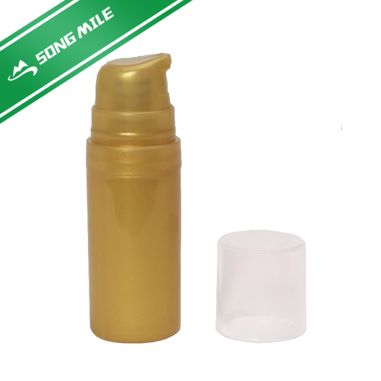 Plastic bottles for cosmetics packaging