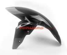 Quality carbon fiber motorcycle parts 3K twill glossy carbon fibre tuning front fender longer version for BMW S1000RR