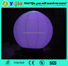 outdoor and indoor use devorative inflatable led balls