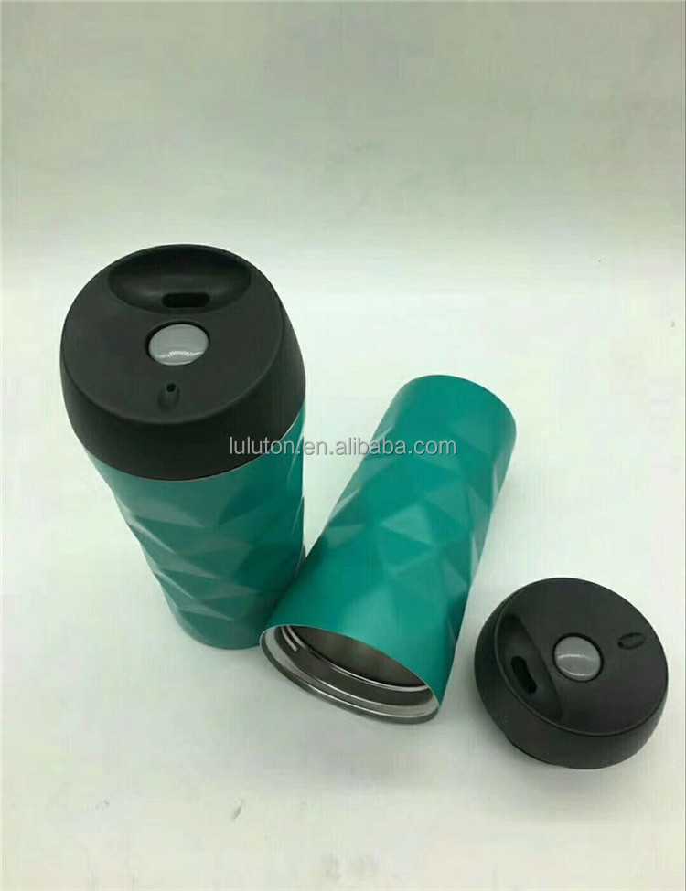 Leak Spill Proof 2017 high quality eco friendly thermal travel mug with lid