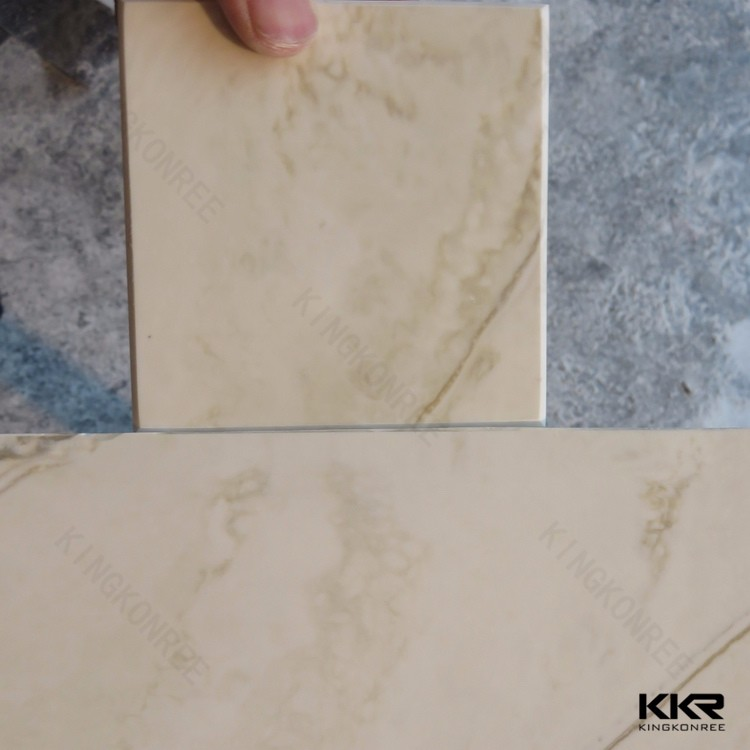 Solid surface table top raw material