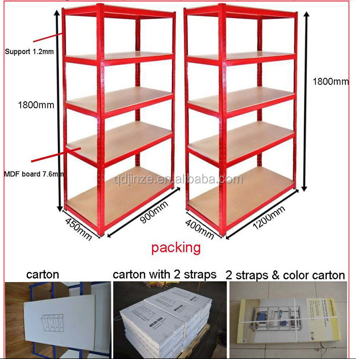 265kg Heavy duty adjustable warehouse storage rack ,Steel shelves price