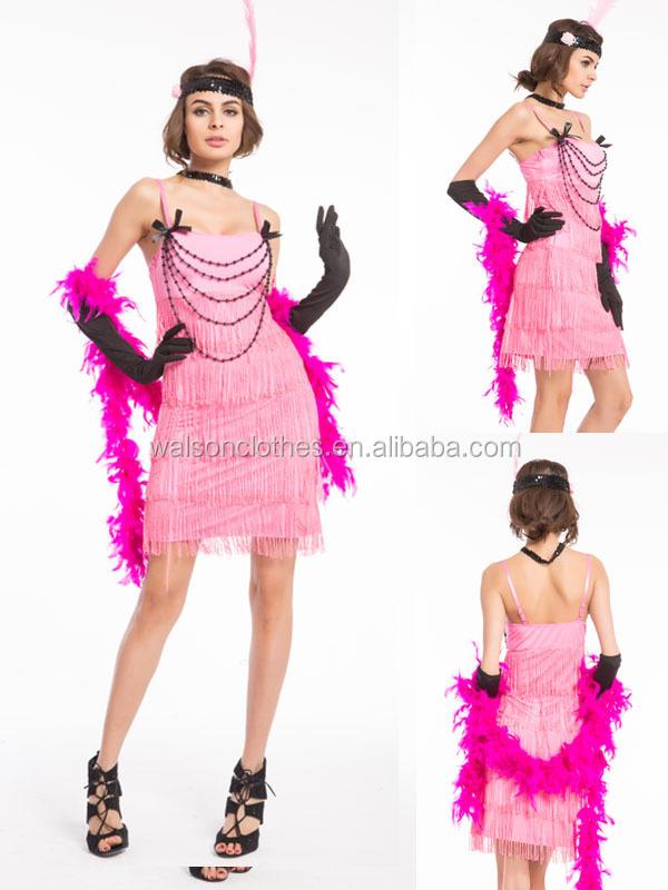 Venta al por mayor vestidos coctel flecos-Compre online los mejores ...