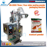1 - 100 g Automatic High Speed Mustard Powder Pouch Packaging Machine