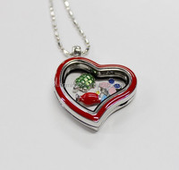 Cheapest stainless steel jewelry,stainless steel glass locket,locket pendant silver