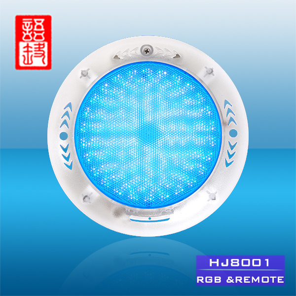 Wall Mount Installation Remote Control And Transformer Multi Color LED Swimming Pool Light Underwater