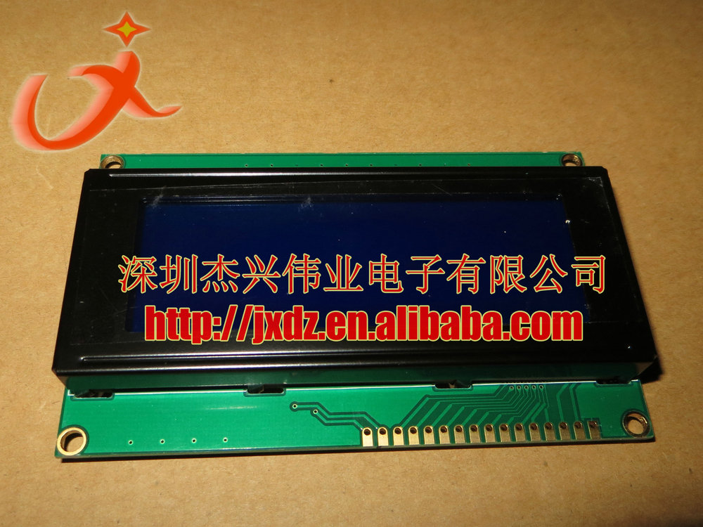 20*4 Graphic LCD display 20X4 blue backlight 5V