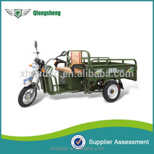Classic large loading 400 kg electric tricycle 3 wheeler cargo electric rickshaw for sale Qiangsheng manufacturer supply