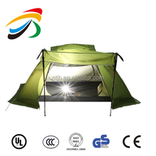 cheapest double layer dome family outdoor removing event Castle camping mountain travel Tour fishing beach tent shelter