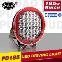 185w ARB design 9 inch for offroad car 15000 lumens 4x4 spot lights
