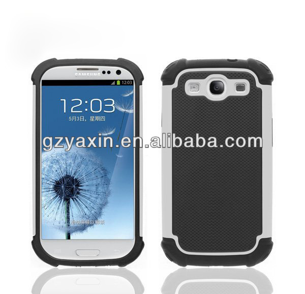 Hot Popular Rugged Tyre silicone case for Samsung Galaxy S3 i9300,unbreakable phone cases for samsung galaxy s3