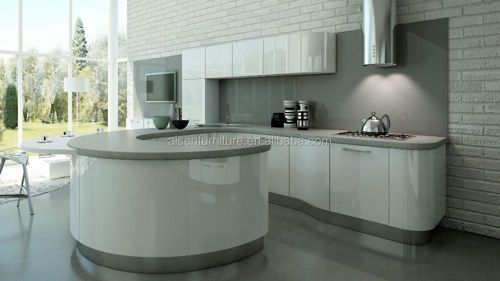 new design hot selling round kitchen cabinet buy round