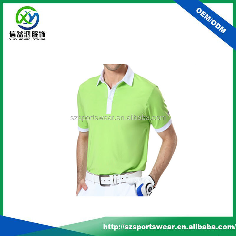 dri fit t shirts with your logo /100 % polyester golf shirts for men/compression running shirts