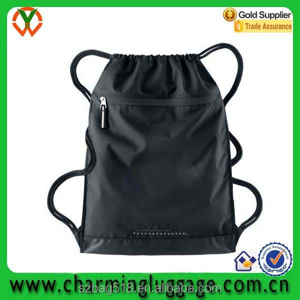 wholesale backpack OEM waterproof travel drawstring bag gym sack