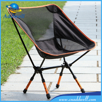 Outdoor detachable aluminum lightweight portable foldable compact folding camping chair
