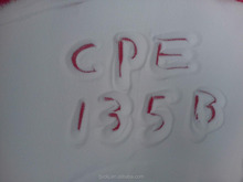 Factory direct supply cpe resin cpe 135a pvc additive for pipe