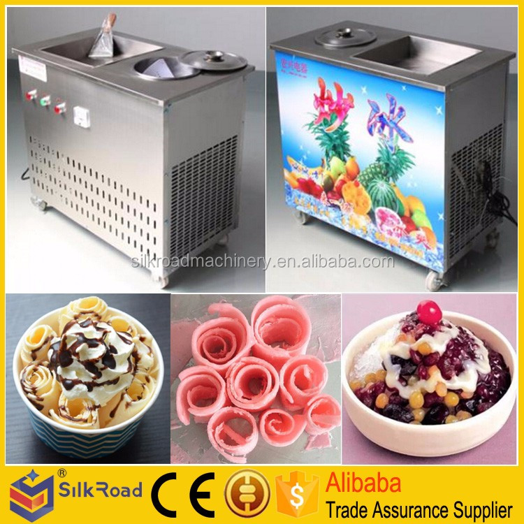 Good Quality fried ice cream machine mesin ais krim goreng