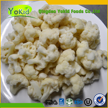 2017 New Crop Hot Sale Frozen IQF Florets Cauliflowers